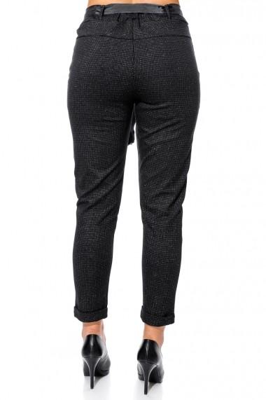 Pantaloni drepti Jolenttine P20338 RHEA Negri
