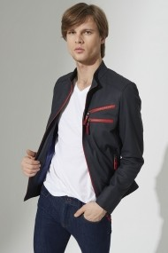 Jacheta din piele IPARELDE IPAM4711 Bleumarin