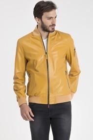 Jacheta din piele IPARELDE IPAM1003 Galben
