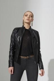 Jacheta din piele IPARELDE IPAWZ12 Negru