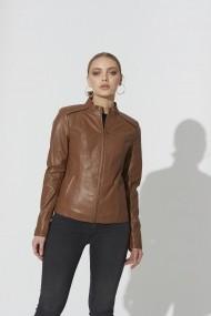 Jacheta din piele IPARELDE IPAWZ12 Maro