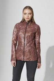 Jacheta din piele IPARELDE IPAWZ27 Roz