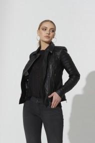 Jacheta din piele IPARELDE IPAWZ42 Negru