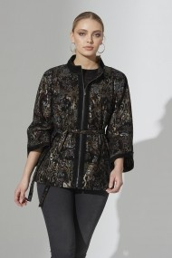 Jacheta din piele IPARELDE IPAW44316 Print