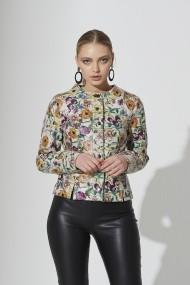 Jacheta din piele IPARELDE IPAWZ7 Floral