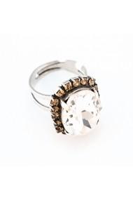 Inel Champagne and Caviar placat cu argint 925 - 7090/1-391100SP
