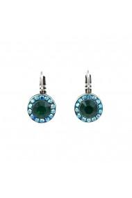 Cercei Mediterranean Blue placati cu argint 925 - 1129-1316SP6