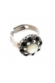 Inel Aurore in Black placat cu argint 925 - 7417/1M-87280SP