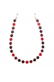 Colier Lady In Red placat cu aur 24K - 3252-1070RG