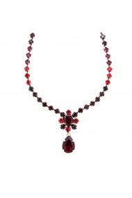 Colier Lady In Red placat cu argint 925 - 3156/2-1070SP