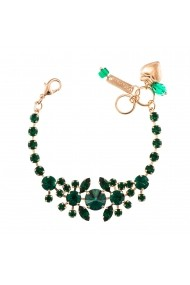 Bratara Emerald placata cu aur 24K - 4326/1-205205RG