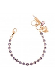 Bratara Violet placata cu aur 24K - 4000-371371RG