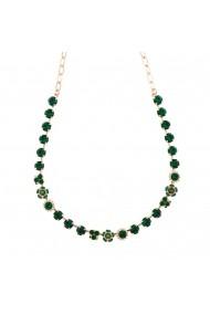 Colier Emerald placat cu aur 24K - 3028/1-205205RG