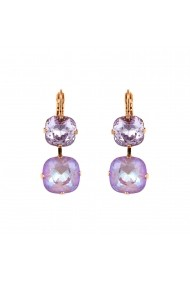 Cercei Lavender placati cu aur 24K - 1326/8-1910RG6