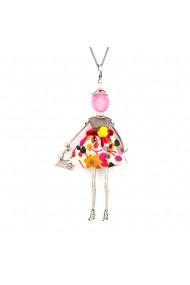 Bambola in Stile Barcelona-Pink