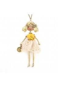 Bambola da Monaco-Yellow