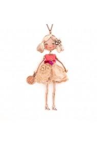 Bambola da Monaco-Orange