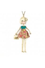 Bambola da Chile-Turquoise-Beige