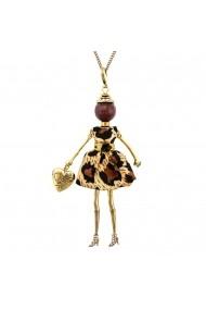 Bambola in Stile Nairobi-Brown-Gold