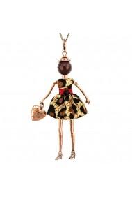 Bambola in Stile Nairobi-Brown-Copper