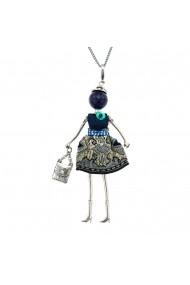 Bambola in Stile Astana Chic-Bleumarine