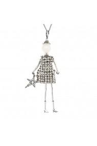 Bambola in Stile Milanese-Star-Silver