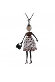 Bambola in Stile Haga-Sparkle-Black