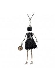 Bambola in Stile Beverly Hills - Silver-Black