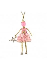 Bambola in Stile Dubai-Gold-Pink