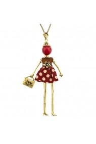 Bambola in Stile Arezzo-Red