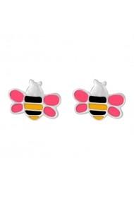Cercei Argint 925 pentru copii Flying Little Bee