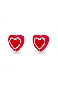 Cercei Argint 925 pentru copii Heart in the Heart