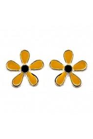 Cercei Argint 925 pentru copii Fancy Yellow Flower