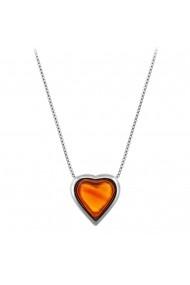 Colier placat cu argint - Colorful Love si piatra semipretioasa Agat Rosu