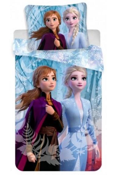 Lenjerie de pat Disney Frozen 140x200 cm - 70x90 cm