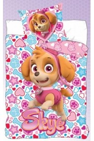 Lenjerie de pat Disney Paw Patrol 140x200 cm - 70x90 cm