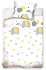 Elephant Child bedlinen 100x135cm - 40x60 cm
