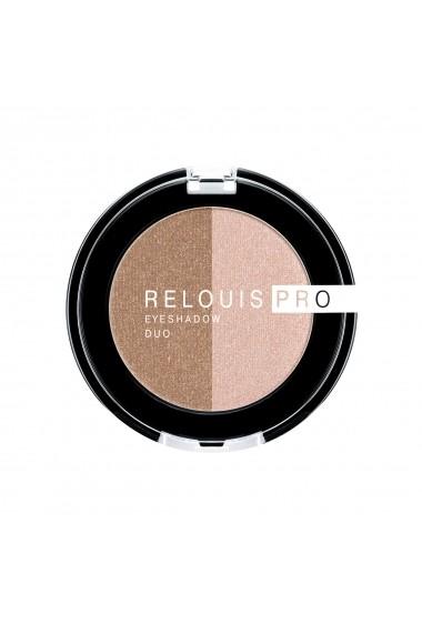 Fard pentru ochi Relouis Pro Eyeshadow Duo 3 g 756-17-111