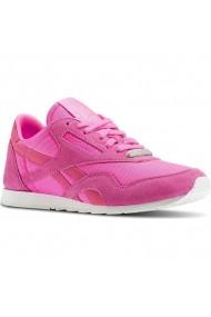 Pantofi sport femei Reebok Classic Nylon Slim Metallic AR2718