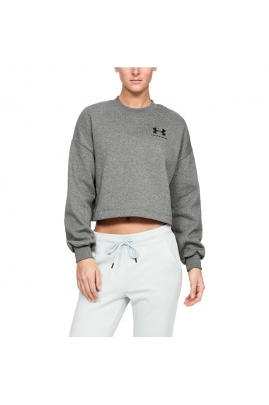 Bluza femei Under Armour Rival Fleece Graphic LC Crew 1344399-011