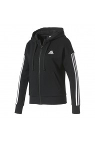 Hanorac femei adidas Performance Essentials 3 Stripes Full Zip Hoodie S97059