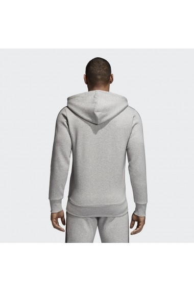 Hanorac barbati adidas Performance Essentials 3S Full-Zip Brushed Fleece Hoodie CF5056