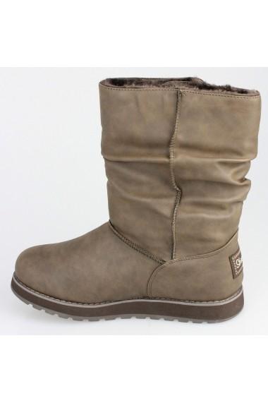 Cizme femei Skechers Keepsakes Leatherette 48805/BRN