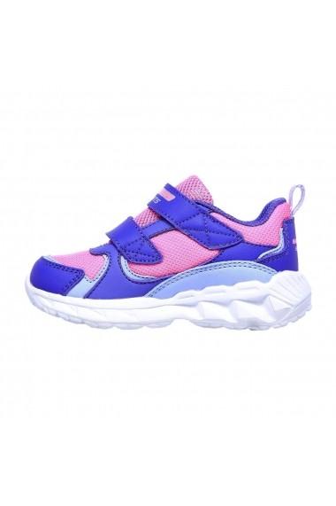 Pantofi sport copii Skechers S Lights: Magna-Lights-Goal Achiever 302093N/PRHP