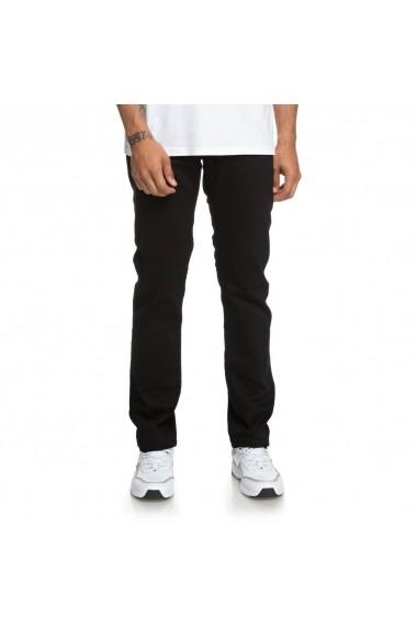 Blugi barbati DC Shoes Worker Black Straight Fit EDYDP03385-KVJW
