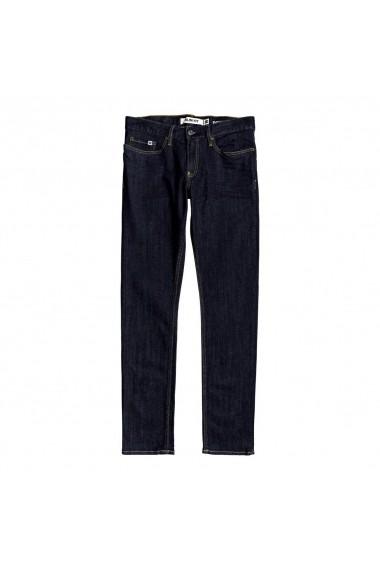 Blugi barbati Dc Shoes Worker Indigo Rinse Slim Fit Jeans EDYDP03399-BTKW