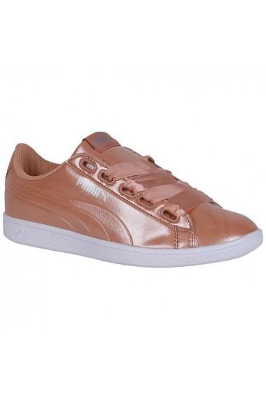 Pantofi sport femei Puma Vikky Ribbon P Coral-Dusty 36641705