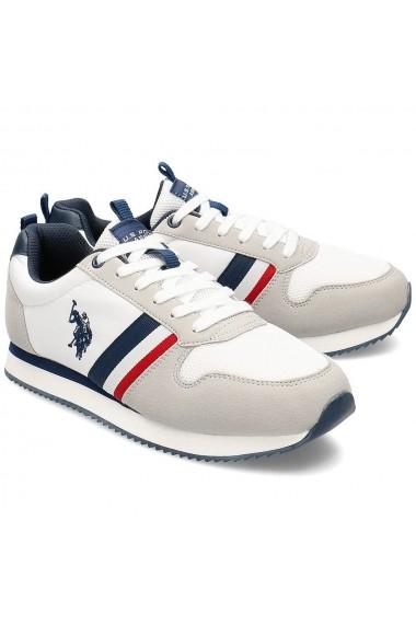 Pantofi sport barbati U.S. POLO ASSN. Nobi NOBIL4243S0/TH1 NOBIL4243S0/TH1-WHI