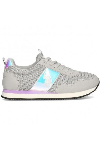 Pantofi sport casual femei U.S. POLO ASSN. Teva4-Ligr NOBIW4263S0/MH1-LIGR