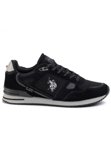 Pantofi sport barbati U.S. POLO ASSN. Wilde3 Suede-BLK FERRY4083W8/SM1-BLK